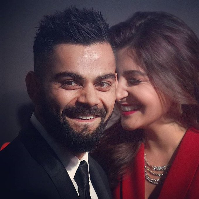 JUST IN : Virat Captured & Posted A Video Of Anushka