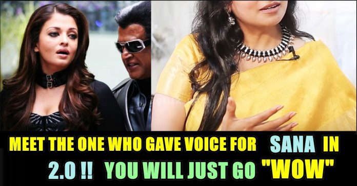 Meet The Person Behind The Voice Of 2 0 Aishwarya Rai !! You
