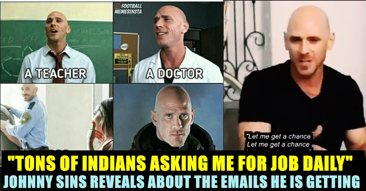 This Video Of Johnny Sins Talking About Indian Youths Goes ...