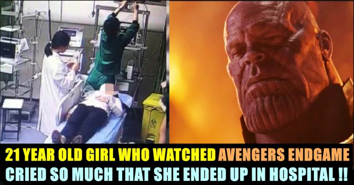 This Young Girl Who Watched Avengers Endgame Was Admitted In